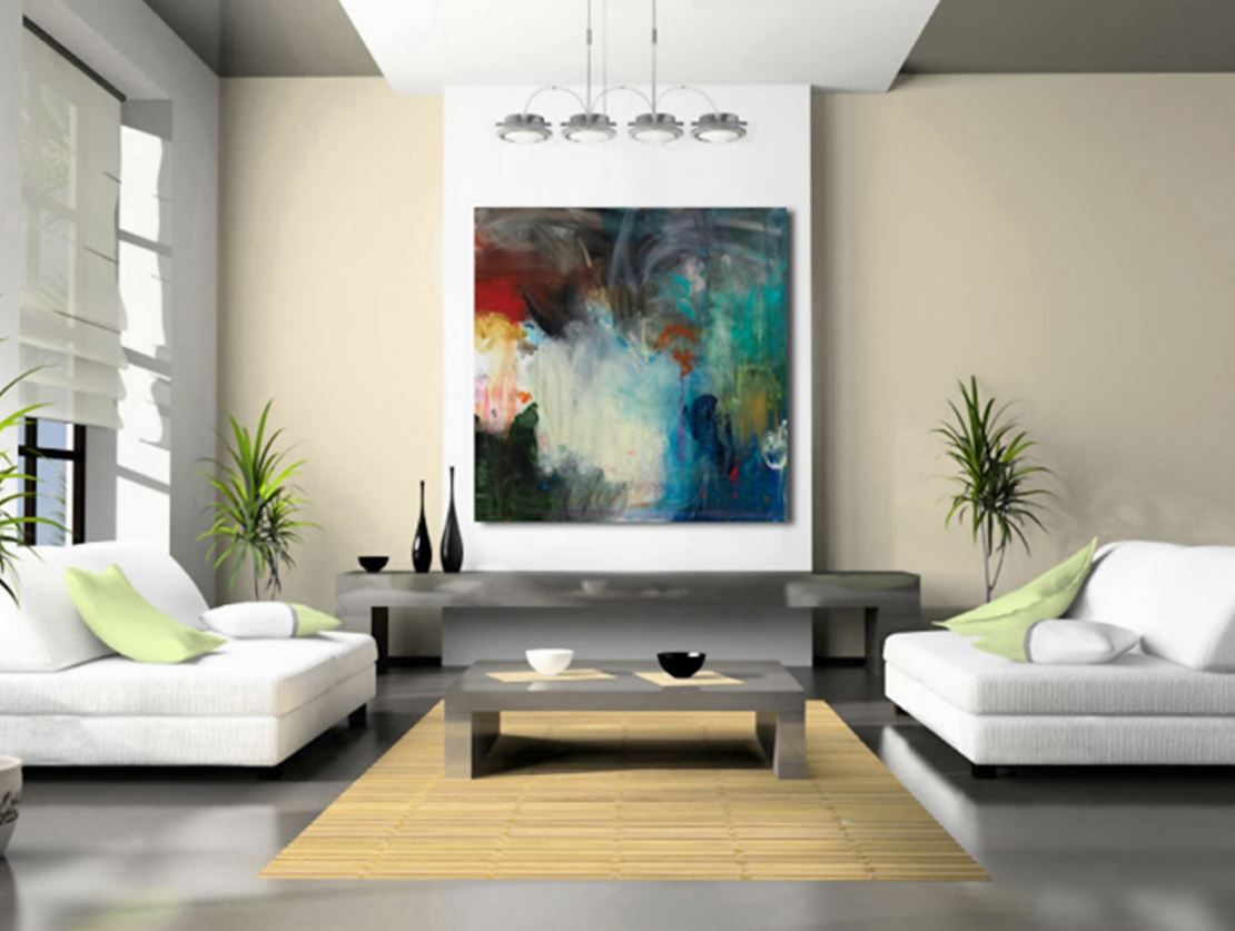 examples of rhythm in interior designers