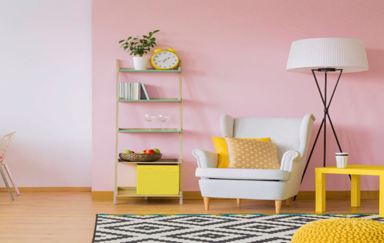 Adding colour to a room